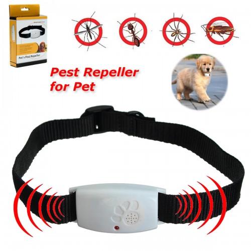 Dog Cat Pet Collar Ultrasonic Mosquito B...