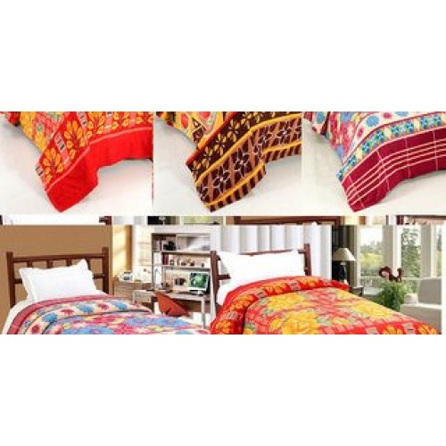 Modern Single Bed Super Lite Fleece Blan...