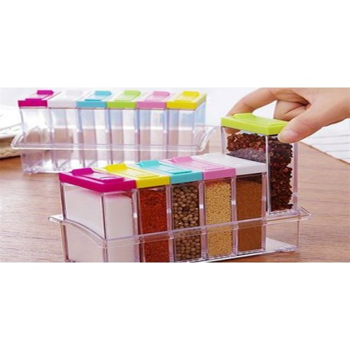 Attractive Spice Rack Standing Set of 6 pieces
